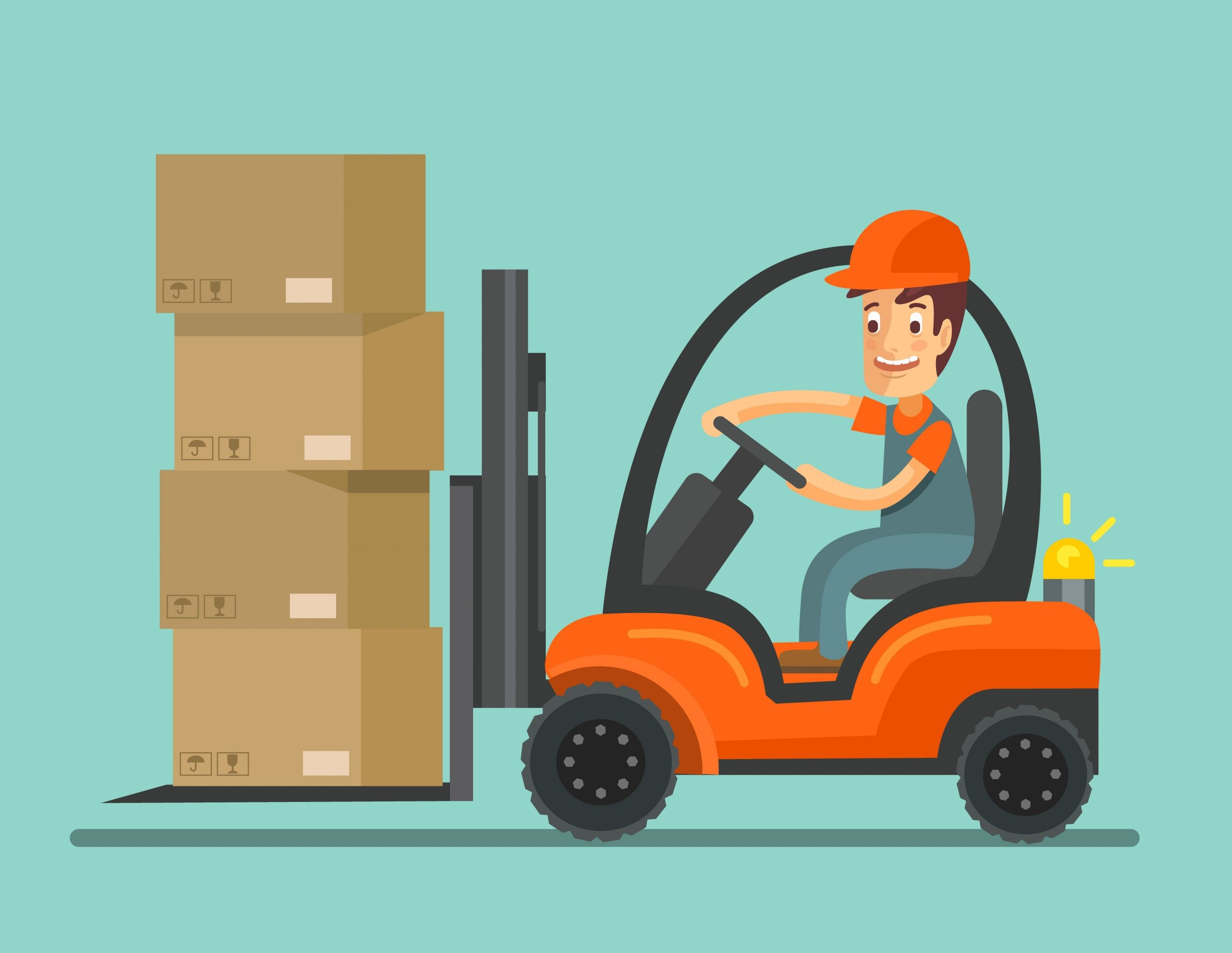 claiming for a forklift truck accident