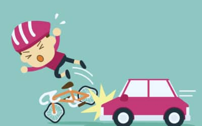 How much compensation for being knocked off my bicycle?